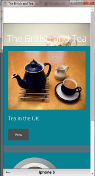 british tea promo